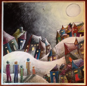 SMALL WINTER VISIONING THE WORLD PAINTING 2
