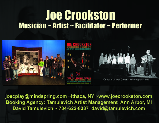 residencies brochure Joe Crookston today