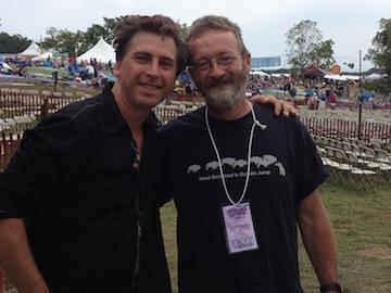 Joe and David Francey